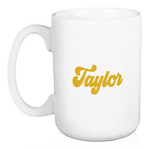 5581-AT: Retro Kappa Alpha Theta 15 oz Personalized Mug