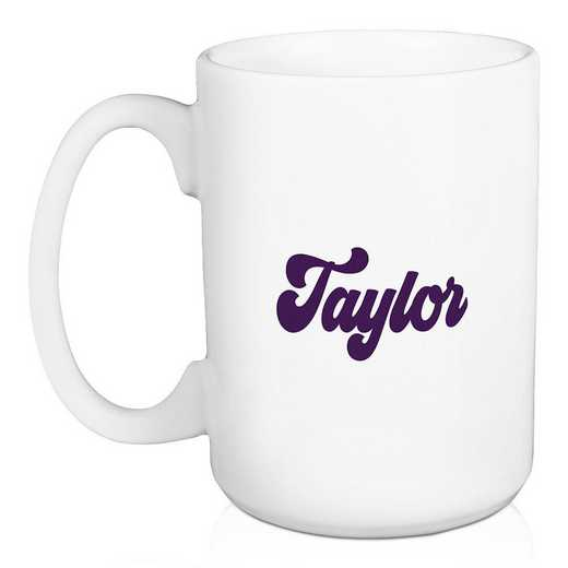 5581-AY: Retro Sigma Kappa 15 oz Personalized Mug