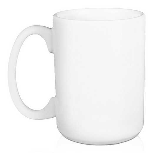 5581-W: Floral Tri Delta 15 oz Personalized Mug