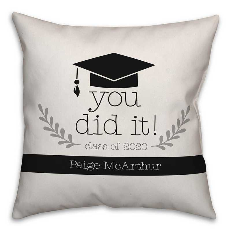 5472-J: DD YOU DID IT PILLOW 18X18