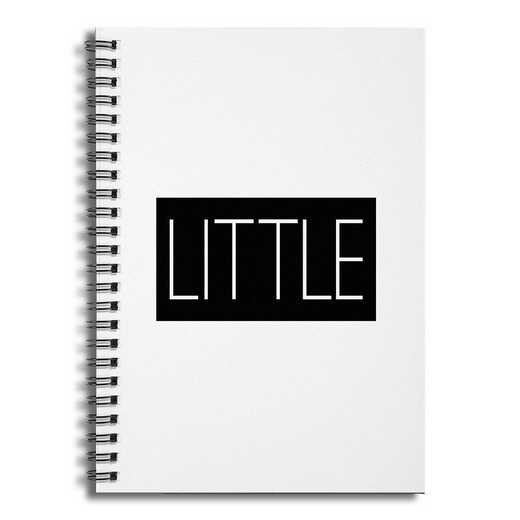 5581-BF: Little 6x8 Ruled Spiral Notebook