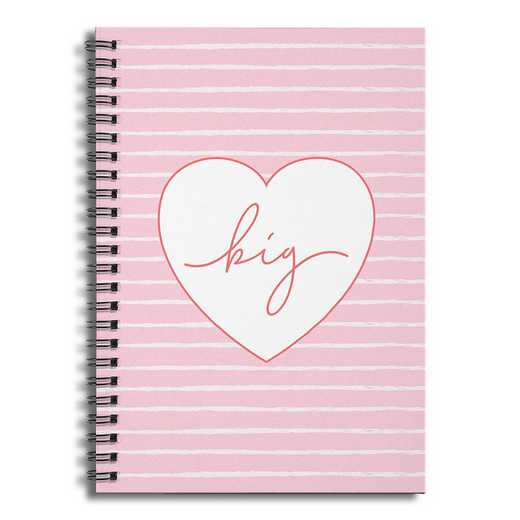 5581-CP: Big 6x8 Ruled Spiral Notebook