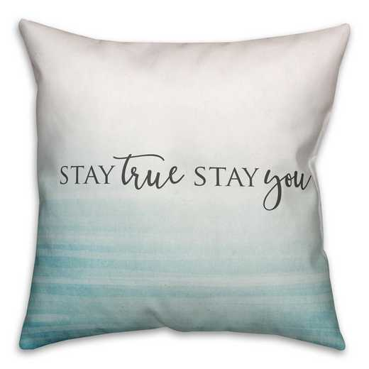 4627-AP: 18X18 Pillow Stay True Stay You