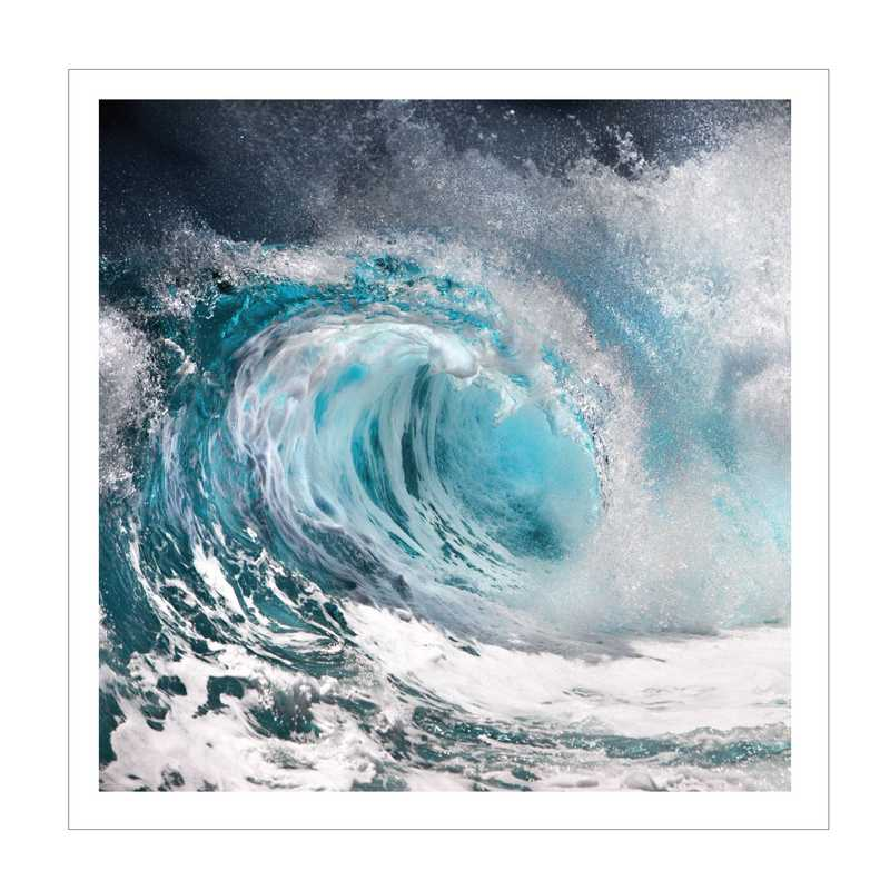 DEC-CT496-50x50: Thunder Wave Large Decal 50x50
