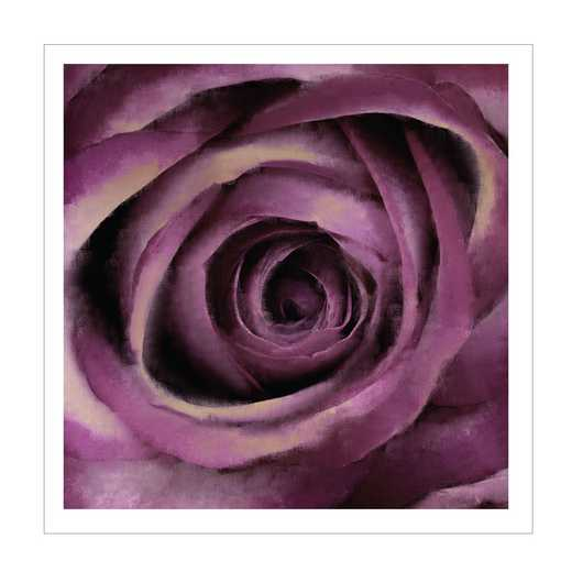 DEC-PO149-50x50: Purple Bloom Large Wall Decals 50x50