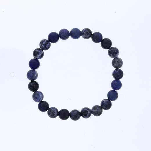 DBJ-MENS-5329:  mens sodalite bead
