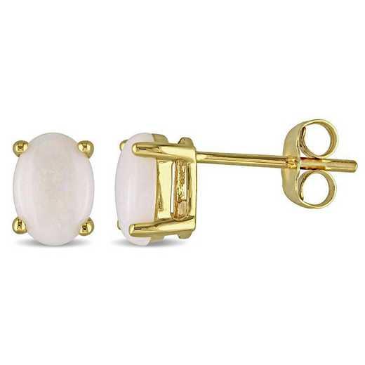 BAL000764: Opal Stud EAR / 10k YG