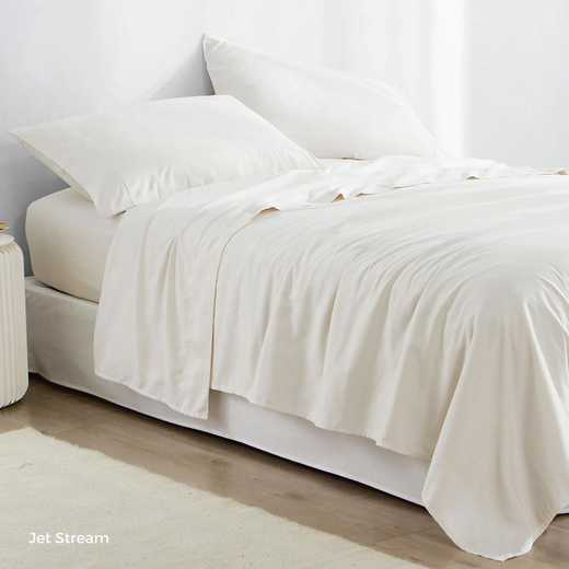 MICROFIB-TXL-SHEETS-JS: Supersoft Twin XL Bedding Sheets - Jet Stream