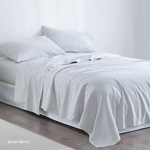 MICROFIB-TXL-SHEETS-SB: Supersoft Twin XL Bedding Sheets - Silver Birch