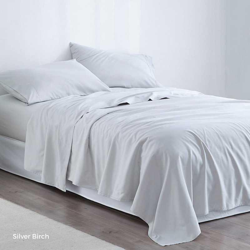 MICROFIB-TXL-SHEETS-SB: Supersoft Twin XL Bedding Sheets - Silver Birch