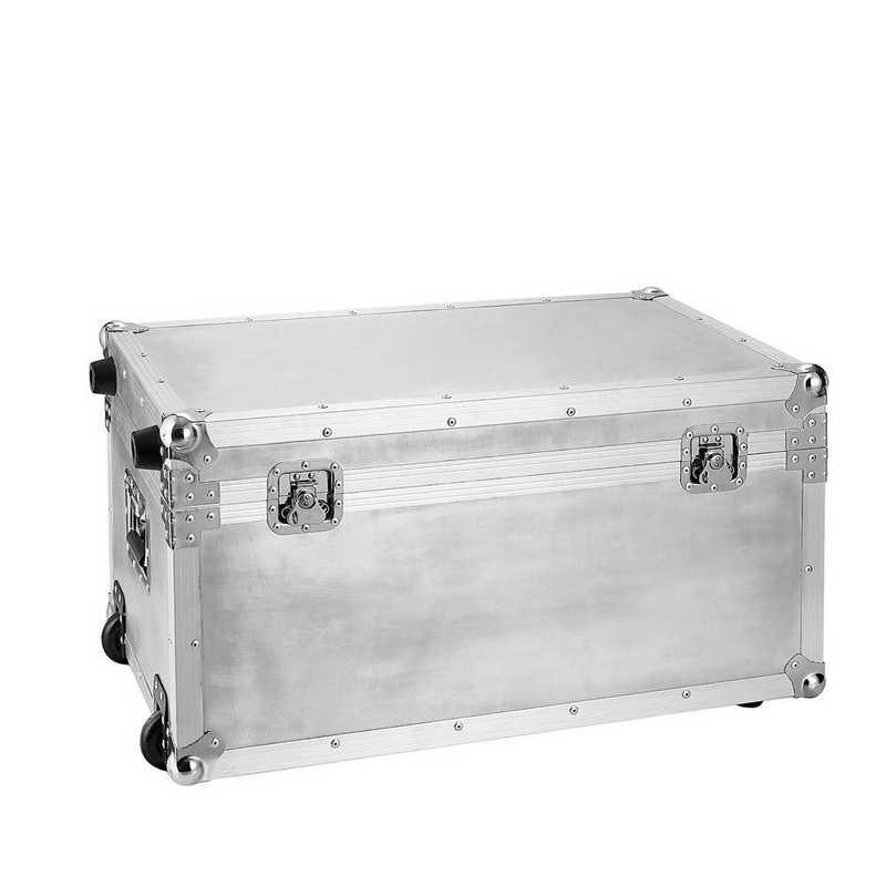 VIN-SPT-AR-SILVER: VIN Steel Plated Trunks - Argent Destination (Silver)