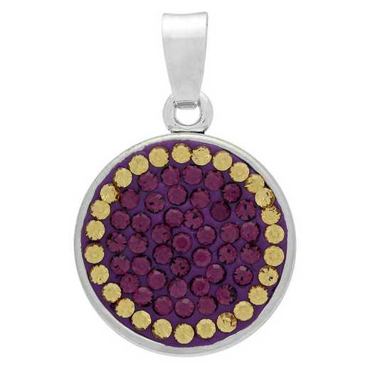 QQ-CSP-AME-LCT: Classic Snap Pendant - AME/LCT (Grape/Champagne)