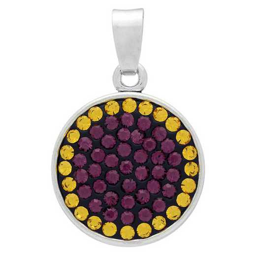 QQ-CSP-AME-TOP: Classic Snap Pendant - AME/Topaz (Grape/Pumpkin)