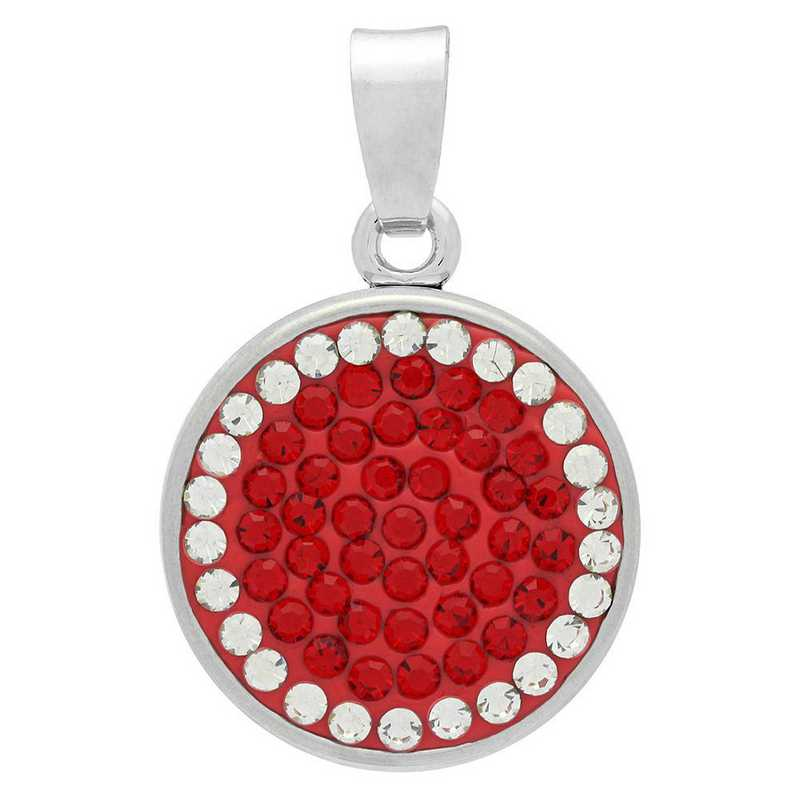 QQ-CSP-LTSIA-CRY: Classic Snap Pendant - LTSIA/CRY (Red/CRY)