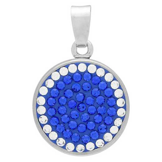 QQ-CSP-SAP-CRY: Classic Snap Pendant - SAP/CRY (Periwinkle/CRY)