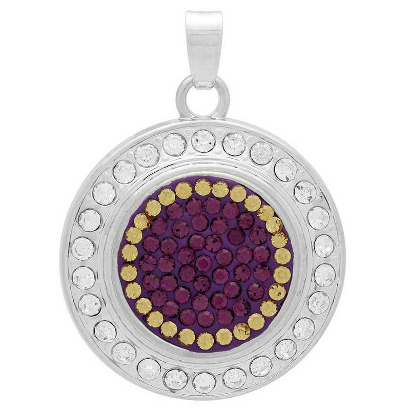 QQ-FSP-AME-LCT: Fancy Snap Pendant - AME/LCT (Grape/Champagne)