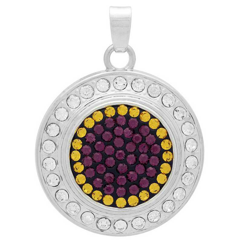 QQ-FSP-AME-TOP: Fancy Snap Pendant - AME/Topaz (Grape/Pumpkin)