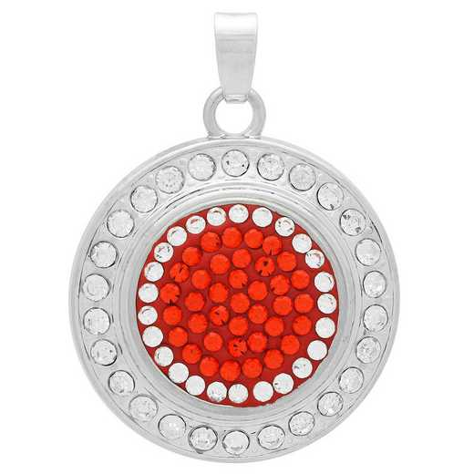 QQ-FSP-HYA-CRY: Fancy Snap Pendant - HYA/CRY (Tangerine/CRY)