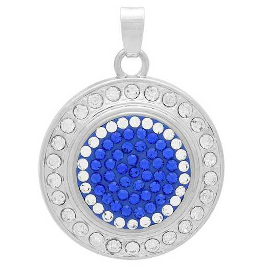 QQ-FSP-SAP-CRY: Fancy Snap Pendant - SAP/CRY (Periwinkle/CRY)