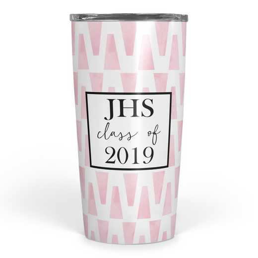 4628-O: Personalized SS Tumbler- 3 int Class of