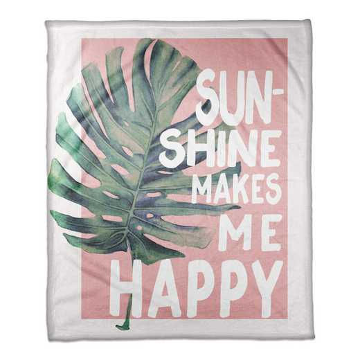 4627-AV: 50X60 Throw Sunshine makes me happy