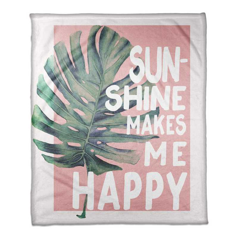4627-AV: 50X60 Throw Sunshine makes me happy