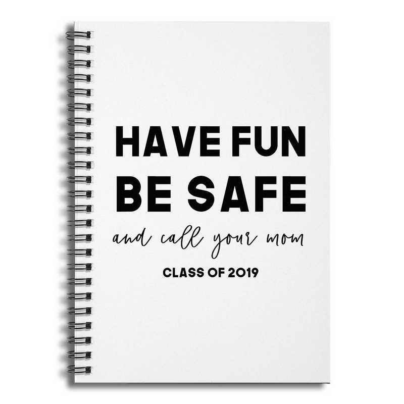 5506-C: DD HAVE FUN BE SAFE NOTEBOOK 6X8