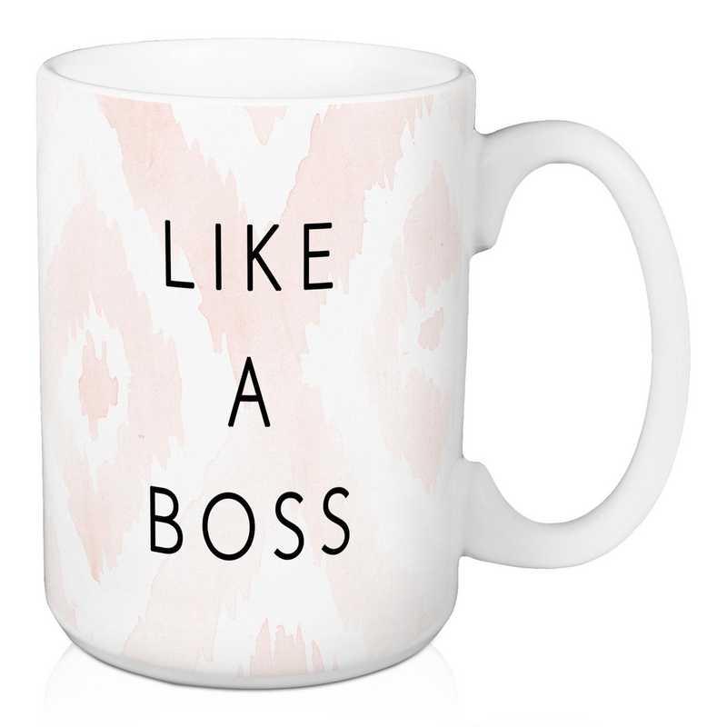 Mug- Like A Boss: Unisex