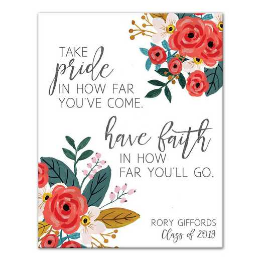 5505-D: DD TAKE PRIDE HAVE FAITH CANVAS 11X14