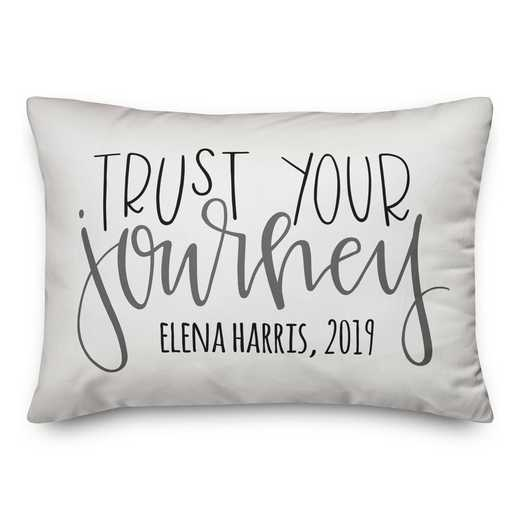 5472-P: DD TRUST YOUR JOURNEY PILLOW 14X20