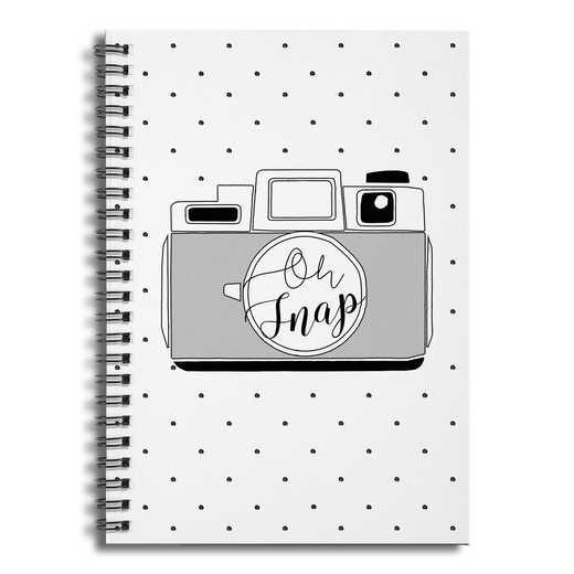 4628-BA: Oh Snap Notebook