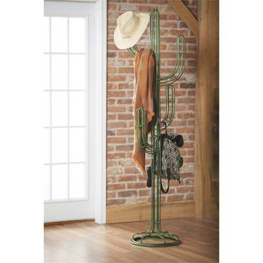 8CR009: EG Cactus Coat Rack