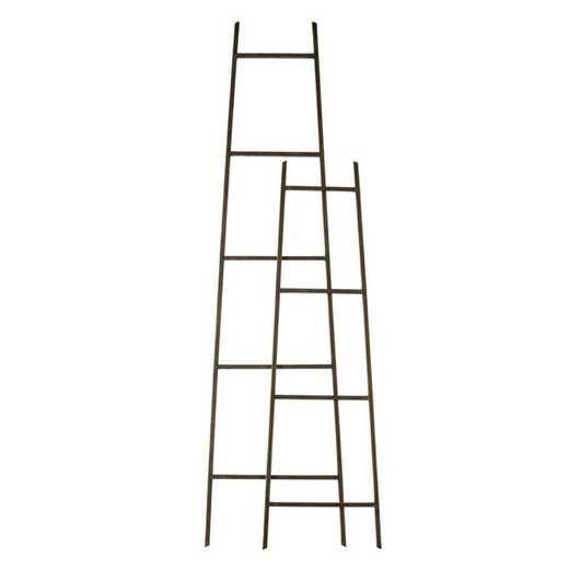 8TAM008: EG Metal Ladder Decor- Set of 2