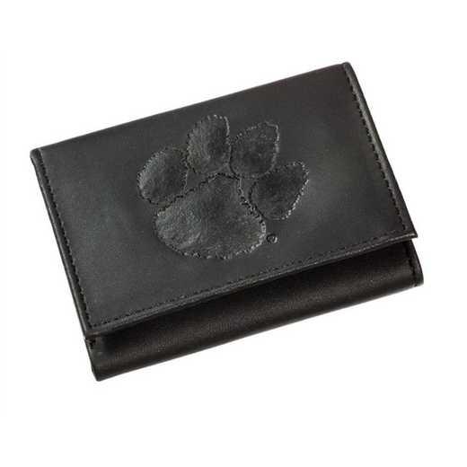 7WLTT912: EG Tri-Fold Wallet, Clemson