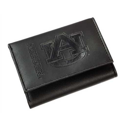 7WLTT928: EG Tri-Fold Wallet, Auburn