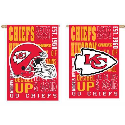 13ES3815FR: EG Fan Rules Flag' Kansas City Chiefs