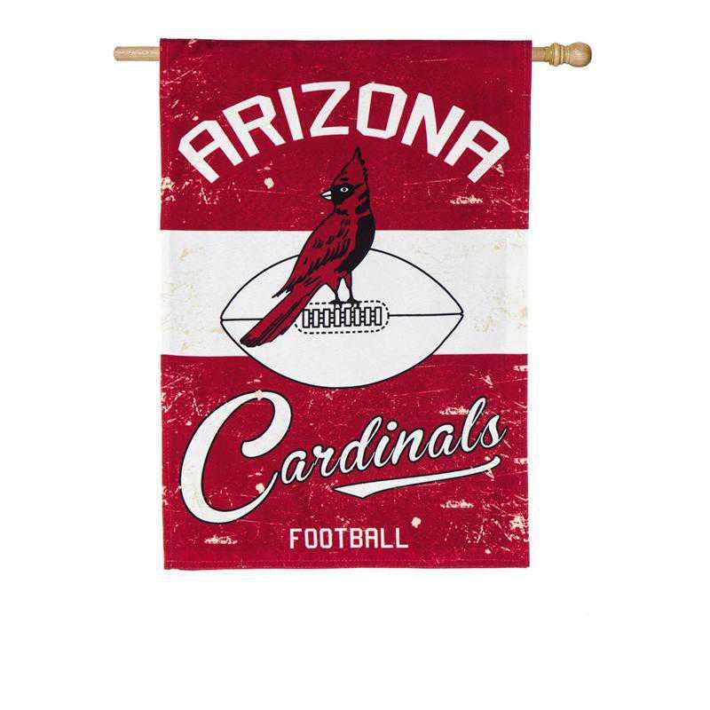 13L3800VINT: EG Vintage Linen Flag, Arizona Cardinals