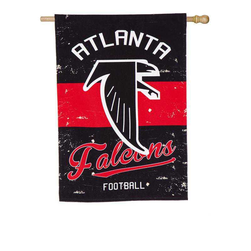 13L3801VINT: EG Vintage Linen Flag, Atlanta Falcons