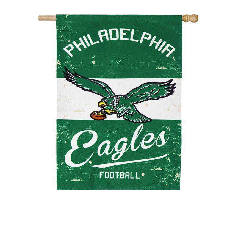 13L3823VINT: EG Vintage Linen Flag, Philadelphia Eagles