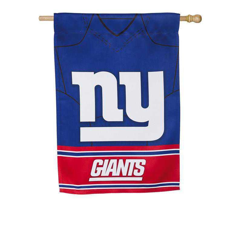 13S3820BLJ: ES Foil Jersey Flag, New York Giants