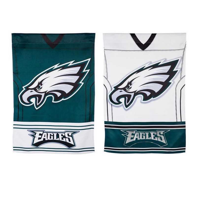 13S3823BLJ: ES Foil Jersey Flag, Philadelphia Eagles