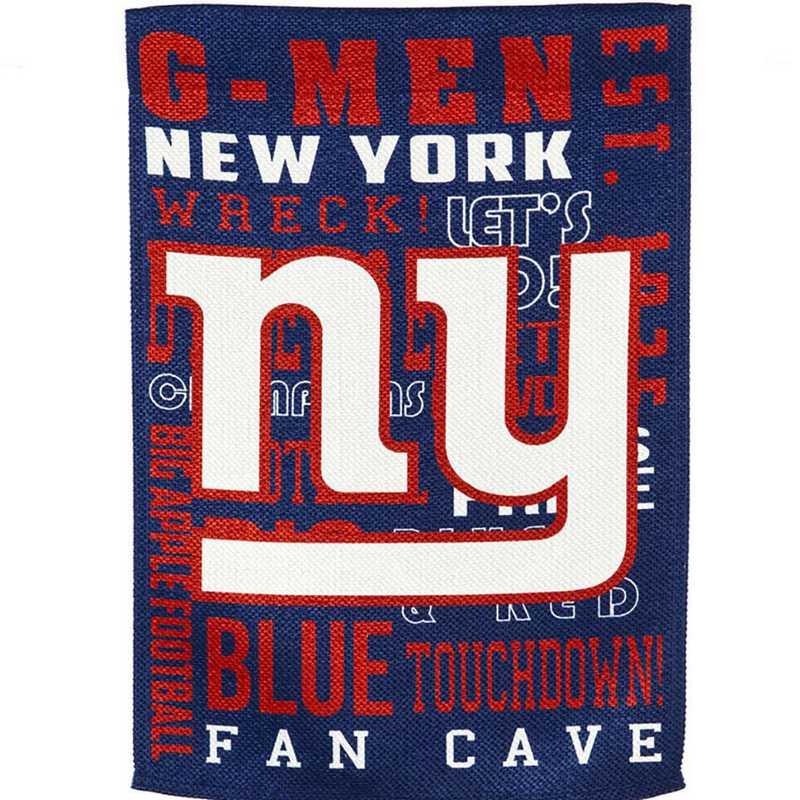 14ES3820FR: EG Fan Rules Garden Flag' New York Giants