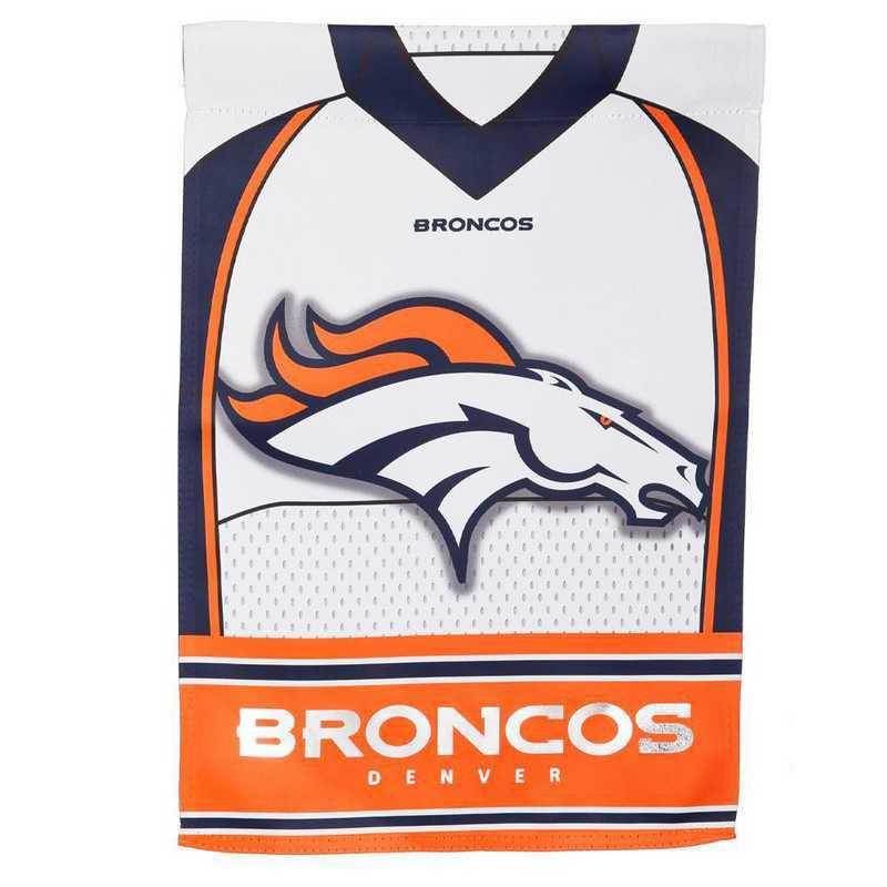 14S3809BLJ: ES Foil Jersey Garden Flag, Denver Broncos