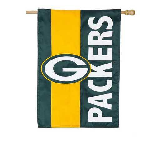 15SF3811: EG Embellished Flag, Green Bay Packers