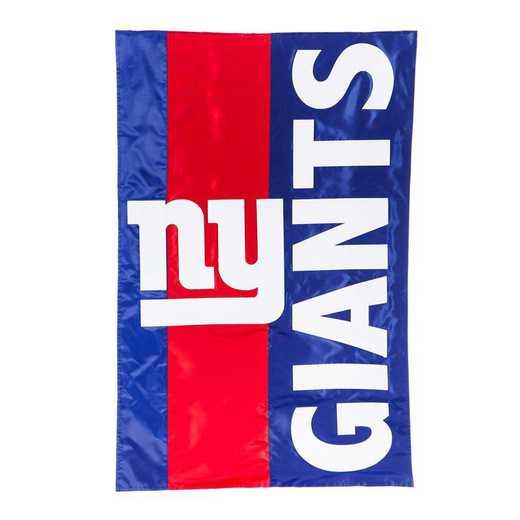 15SF3820: EG Embellished Flag, New York Giants