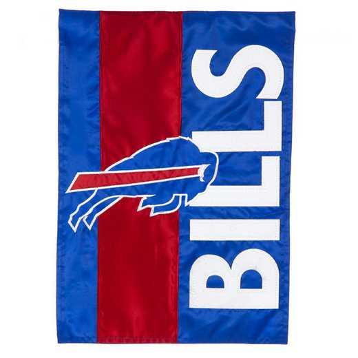 16SF3803: EG Embellished Garden Flag, Buffalo Bills