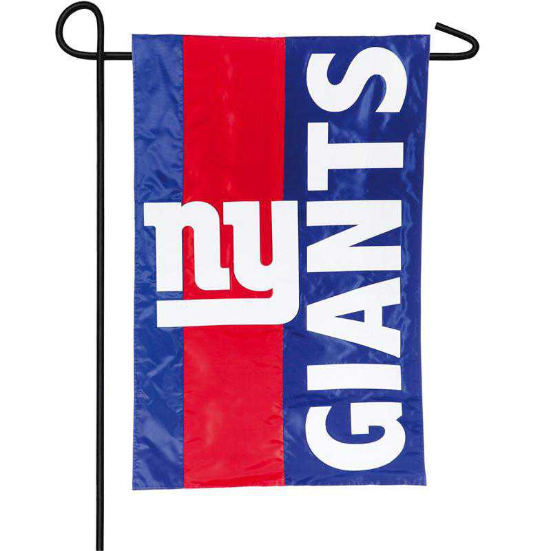 16SF3820: EG Embellished Garden Flag, New York Giants
