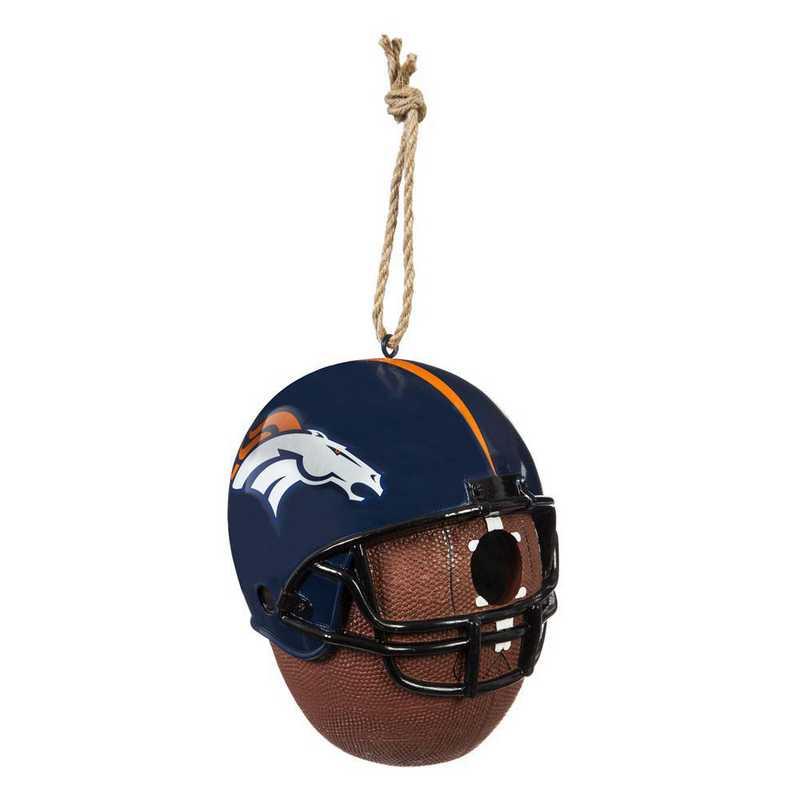 2BH3809TB: EG Denver Broncos, Birdhouse