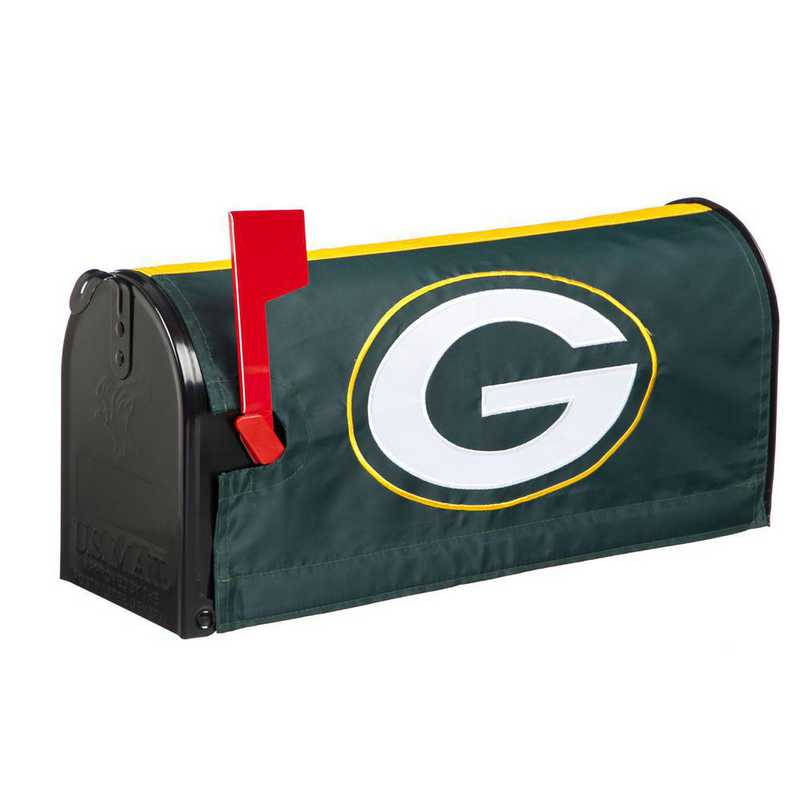 2MBC3811: EG Green Bay Packers, Mailbox Cover