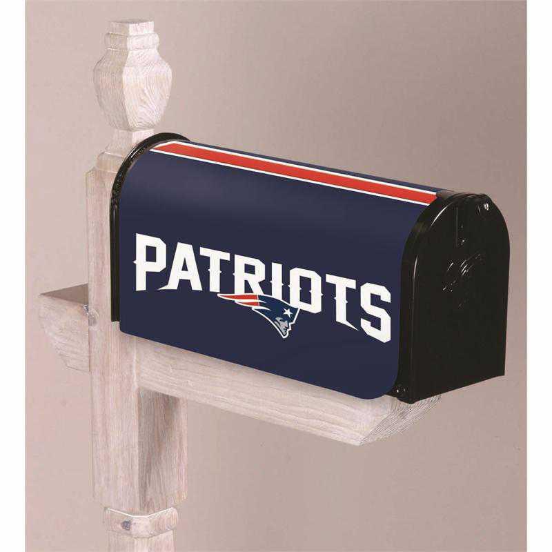 2MBC3818: EG New England Patriots, Mailbox Cover